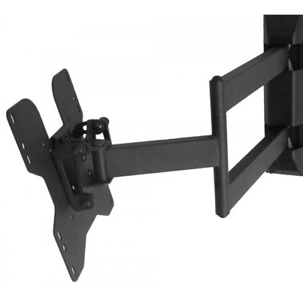 best 17 47 tv monitor full motion wall mount. Black Bedroom Furniture Sets. Home Design Ideas
