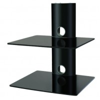BEST 2-Deck Wall Mount Receiver Shelfing Unit