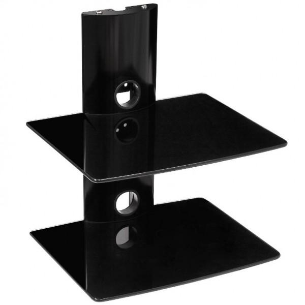 Best 2 Deck Wall Mount Receiver Shelfing Unit